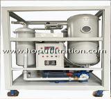 Purificador de aceite de turbina de vacío, aceite de la emulsión de la planta de purificación