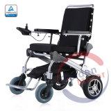 FDA Portable et légère sans balai de pliage avec ce fauteuil roulant électrique de puissance