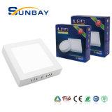 Lampada 24W 3000K quadrato 4000K 6000K 6500K della cucina montata superficie ultrasottile promozionale dell'indicatore luminoso di comitato del soffitto LED dell'indicatore luminoso di comitato del LED