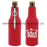 Vente en gros personnalisée personnalisée imprimée isolée rabattable Koozie Neoprene bière peut refroidir manches