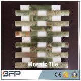 Mosaico di marmo di pietra naturale di arte per le mattonelle di pavimento cucina/della stanza da bagno