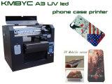 Printer van het Geval van de Telefoon van de Hoge Efficiency van lage Kosten de Mobiele Flatbed Machine van de Druk