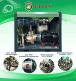 Le ce a délivré un certificat le compresseur simple exempt d'huile de vis de 100% (110KW, 10bar)