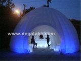 LED que enciende la tienda inflable de la bóveda/la pared inflable para la feria profesional