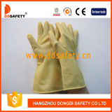 Ddsafety 2017 Light Yellow Latex Household Gloves