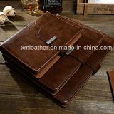 Выбивая тетради дневника логоса кожаный изготовленный на заказ