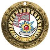 Медаль сувенира пожалования Китая оптовое бронзовое штемпелюя Hocky