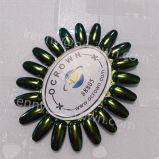 Poudre d'art de clou d'effet de miroir de caméléon de colorant de perle