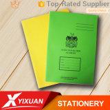 学校学生の演習帳のクラフト紙のリサイクルされたノート