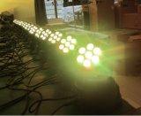 Mini LED indicatore luminoso capo mobile caldo della lavata di vendita 7PCS*10W RGBW