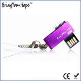mini movimentação da pena do USB do giro 8GB (XH-USB-004)