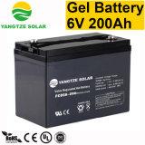 Prix bon marché 6V 200ah batterie profonde de cycle de 6 volts