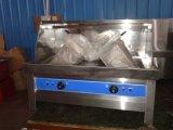 Populaire commerciale d'alimentation en acier inoxydable friteuse électrique permanent