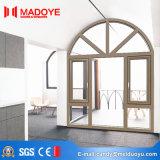 Finestra di legno di alluminio della stoffa per tendine di colore di prezzi poco costosi di buona qualità di Guangzhou