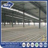 Almacén prefabricado del acero estructural del diseño ligero de la construcción