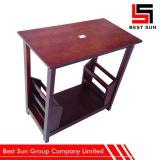 Tavolino da salotto quadrato poco costoso, Tabella di tè di legno multifunzionale