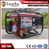 Kingmax 일본 기술 각자에 의하여 가동되는 휘발유 가스 발전기 6kVA