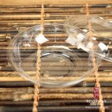 Wegwerfhaustier-Plastiksalat-Kasten (rund)