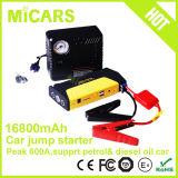 Dispositivo d'avviamento portatile di salto dell'automobile della batteria del Li-Polimero mini con il compressore d'aria