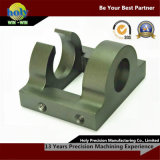 Caso de trituração fazendo à máquina do CNC do alumínio das peças do CNC do suporte
