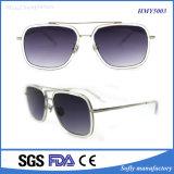 Fashion Brand Designer Metal Sunglasses Style avec Custom Your Own Logo