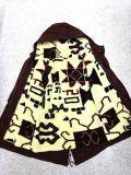de las mujeres ropa teñida capa del invierno / chaqueta con Jacquard S12
