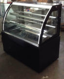 Commerical는 구부렸다 세륨 (WM-7R)를 가진 유리제 케이크 전시 냉장고를