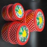 Casella impaccante rossa luminosa/contenitore di metallo/casella attuale per gli alimenti (R009-V1)