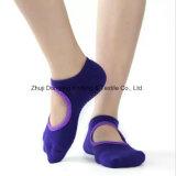 Pilates Socks конструированные таможней носки йоги с Non дном скида