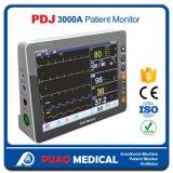 Moniteur patient portatif d'hôpital technique élevé de Pdj-3000A