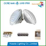 precio de fábrica de alta calidad AC/DC12V 35W RGB LED PAR56 bajo el agua de la luz de la piscina