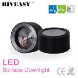 5W LED 옥수수 속 표면에 의하여 거치되는 Downlight 까만 LED 점화