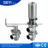 50,8 mm assentar a válvula de desvio pneumática sanitárias