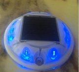 PC de forme ronde en plastique de la route à LED solaire stud Cat Eye