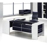 光沢のある黒い学校の教授のオフィス用家具現代オフィス表(HX-ET14016)