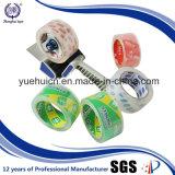 Sin la cinta cristalina del pegamento adhesivo de las burbujas