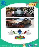 Pintura a cores de múltiplos efeitos para reparação de automóveis