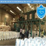 O PLC controla a auto embalagem do moinho de farinha do milho (30t)