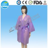 Robes longues non-tissées remplaçables de kimono
