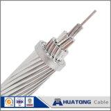 Conductor reforzado acero de aluminio de arriba descubierto del conductor ACSR para uso en línea transmisión