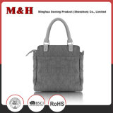 Moda Grande Capa Neutral Tote PU Leather Lady Handbag