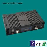ripetitore mobile a due bande del nero del ripetitore di 23dBm 4G per il banco (GW-23L7L)