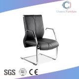 Chaise de réunion en cuir noir haut de gamme Mobilier de bureau