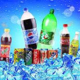 Las botellas de PET de la máquina de embotellamiento de agua de gas