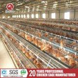 家禽のための3つの層の層の鶏のケージ
