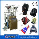 Máquina para hacer punto del hilado del casquillo de lana del sombrero