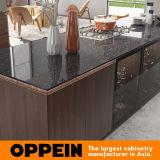 Современный элегантный Zen-Like Oppein естественной древесины меламина кухонные шкафы (OP17-HPL02)