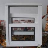 Puder beschichtete den gerundeten Aluminium Verschluss anheben oben u. unten Fenster K01019