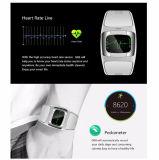 Les soins de santé Smart montre avec 1,54 pouces écran tactile & Bluetooth et étanche IP54