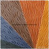 모조 고리버들 세공에 의하여 돋을새김되는 널리 이용되는 합성 물질 PU 가죽 (S275120)